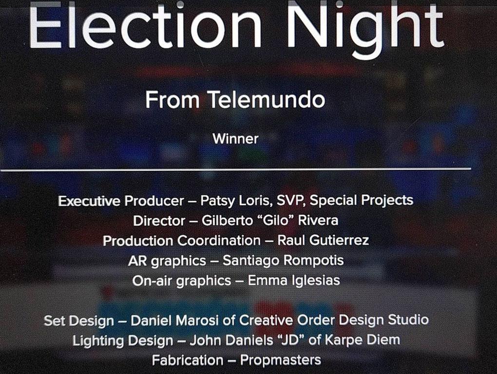 Telemundo Election Night Winner