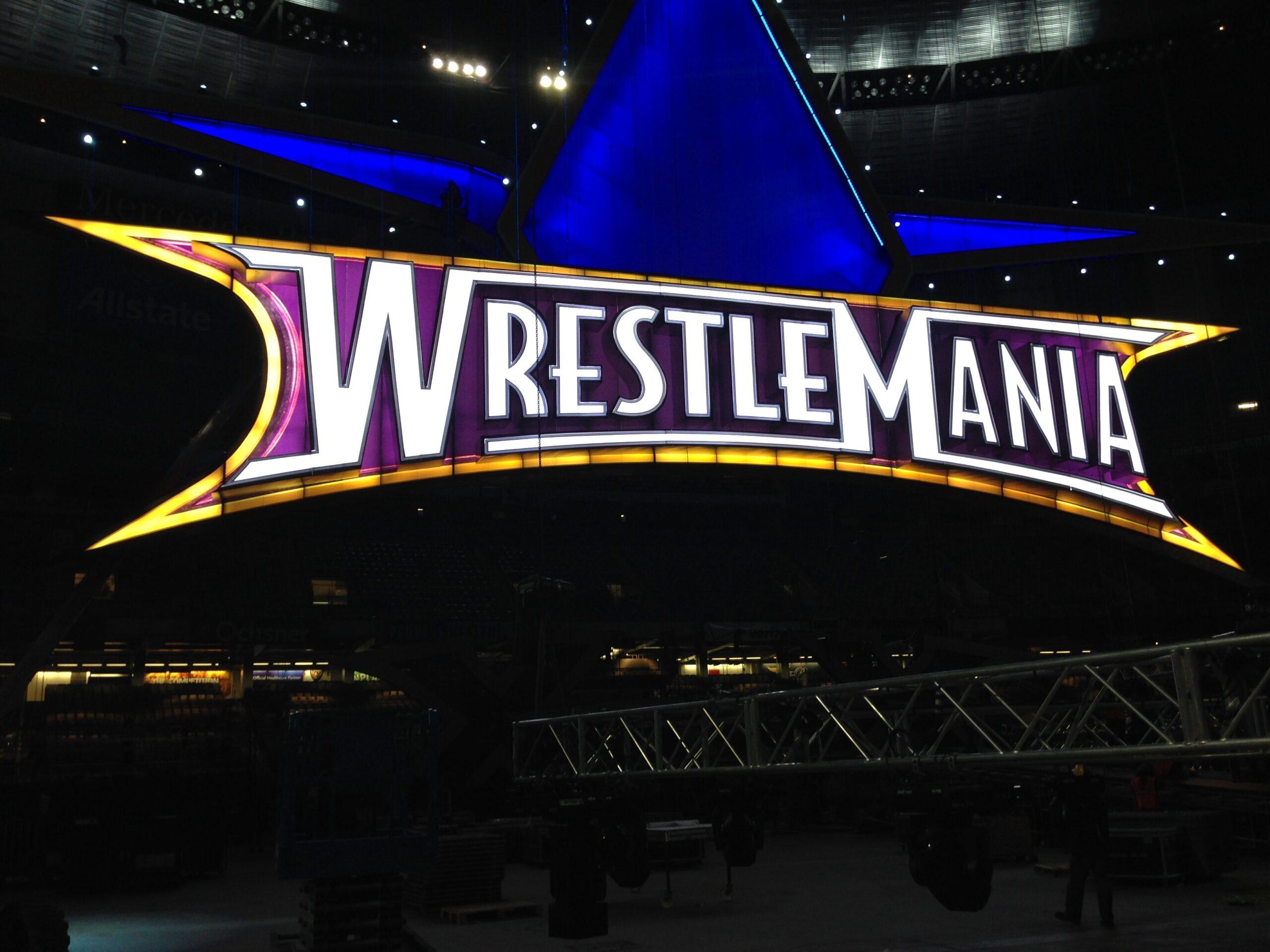 Propmasters Wrestlemania set 4