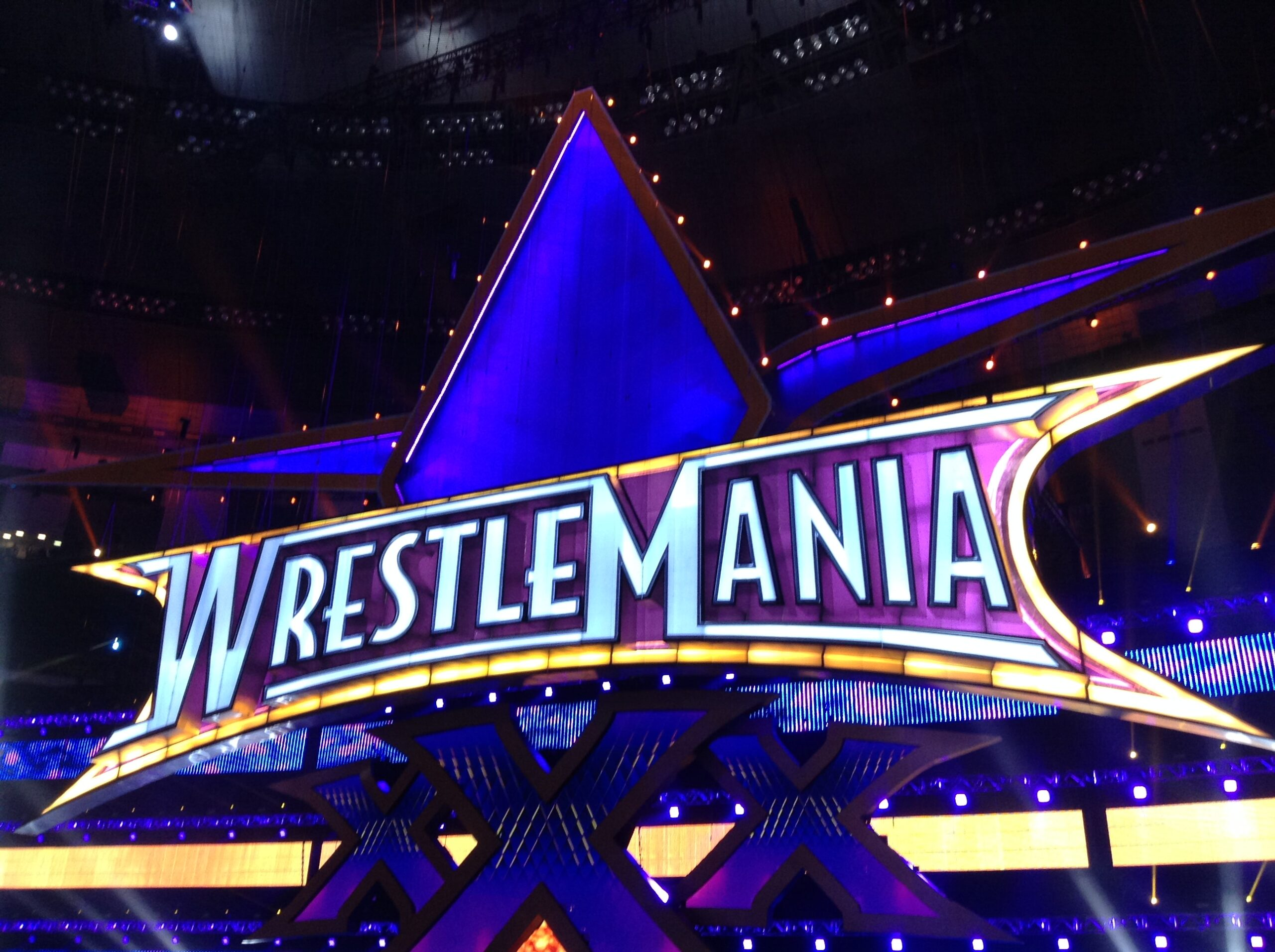 Propmasters Wrestlemania set 1