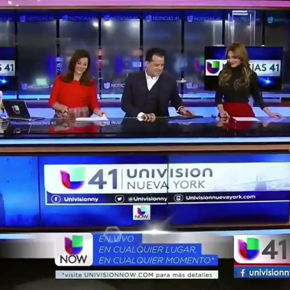Propmasters Univision 41 Set