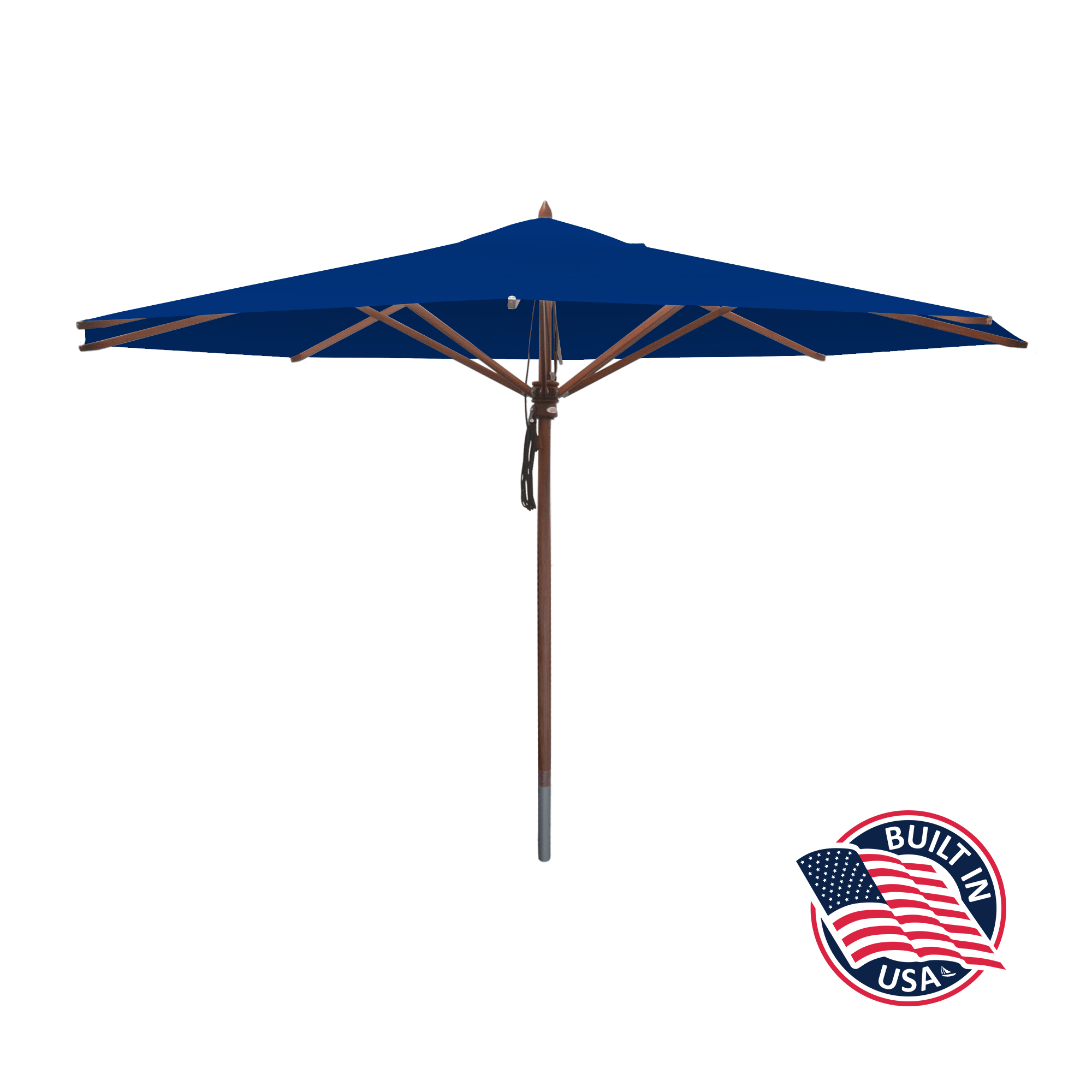 13′ Octagon African Mahogany Umbrella