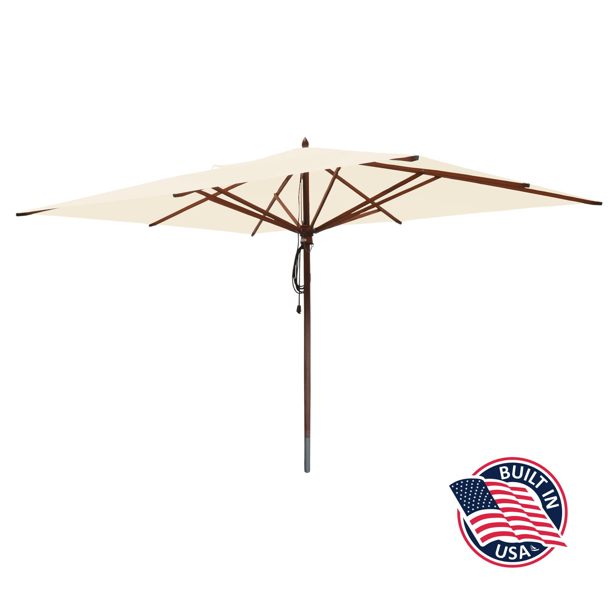 10' x 13' Rectangle Patio Umbrella