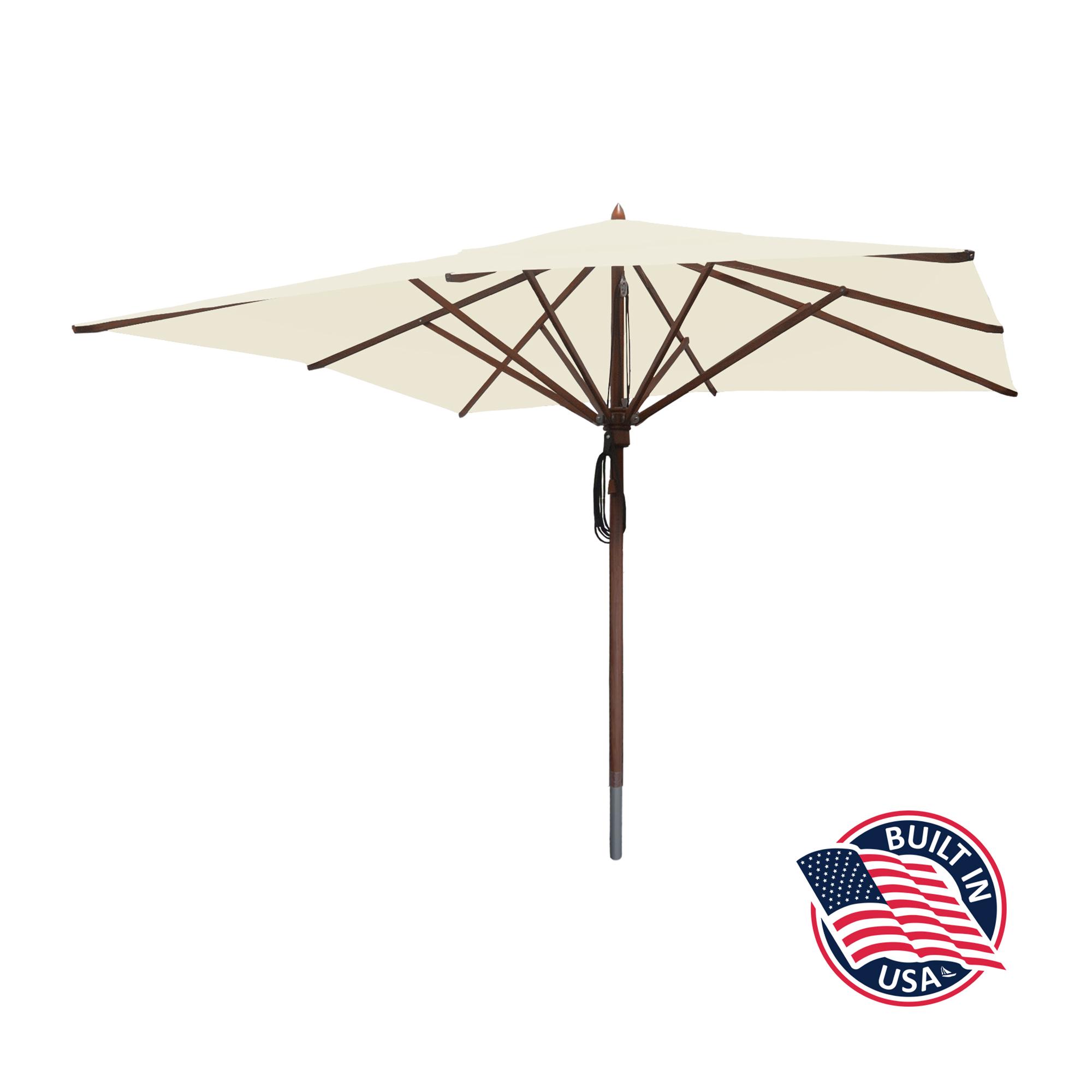 10' Square Patio Umbrella