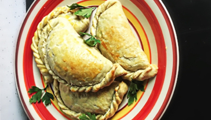 Spinach and Cheese Empanadas