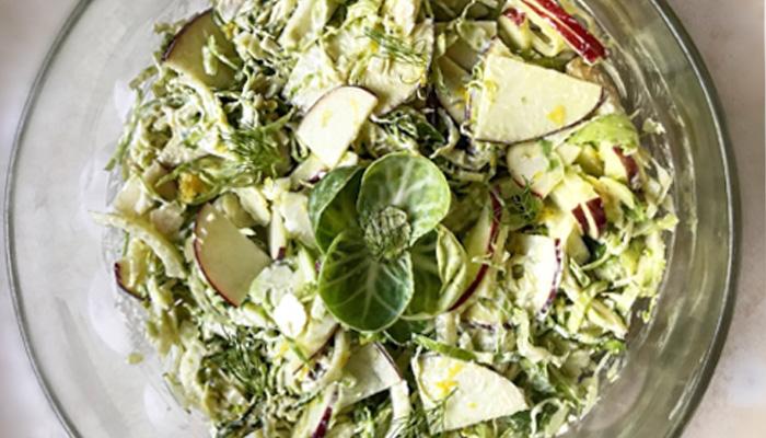 Fennel Brussel Salad