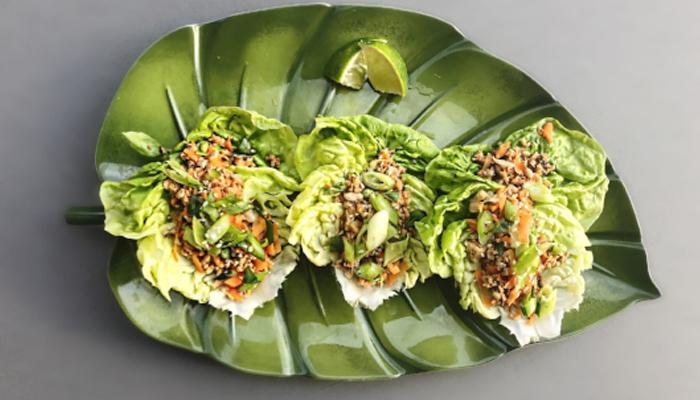 Thai Bibb Lettuce Wraps