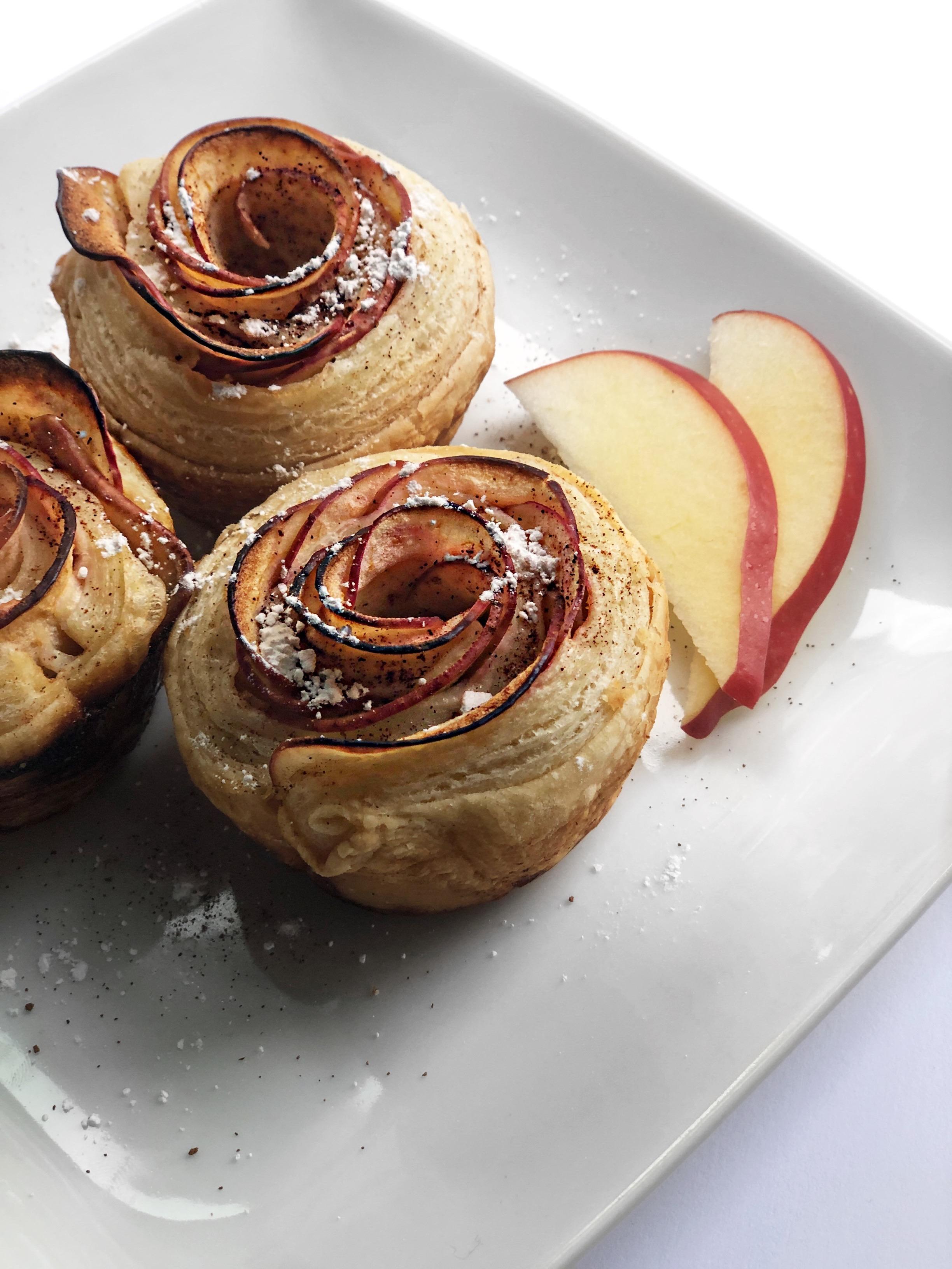 Baked Rose Apples