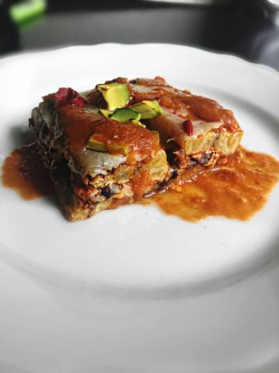 Plantain Enchiladas