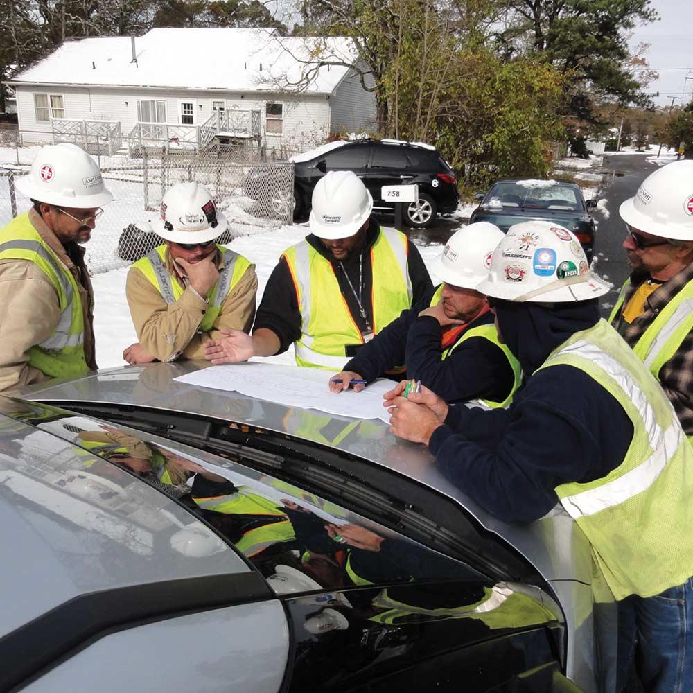 Asplundh Construction Emergency Restoration