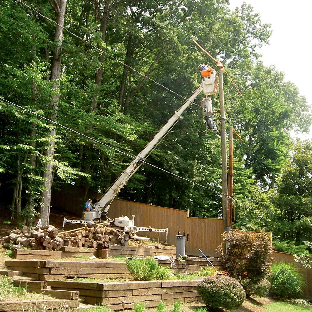 Asplundh Construction Pole Services