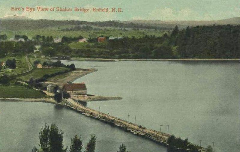 Mascoma Lake Postcard