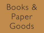 Books and Paper Goods