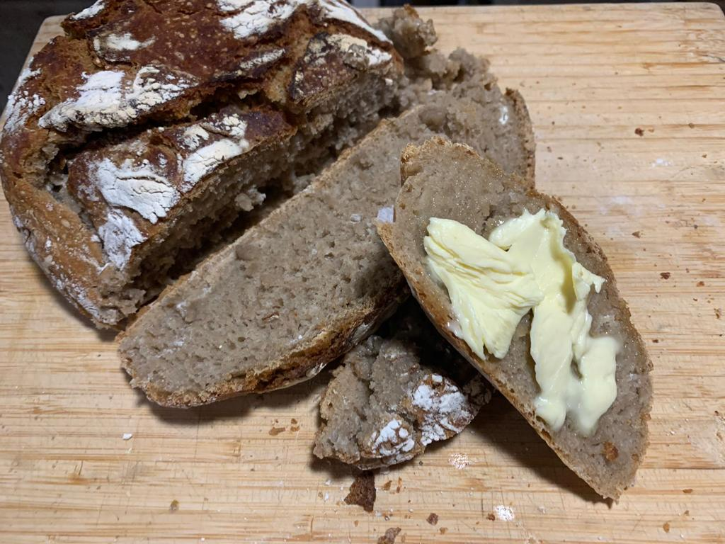 Pitlochrie summer solstice 2020 Ivana's rye bread