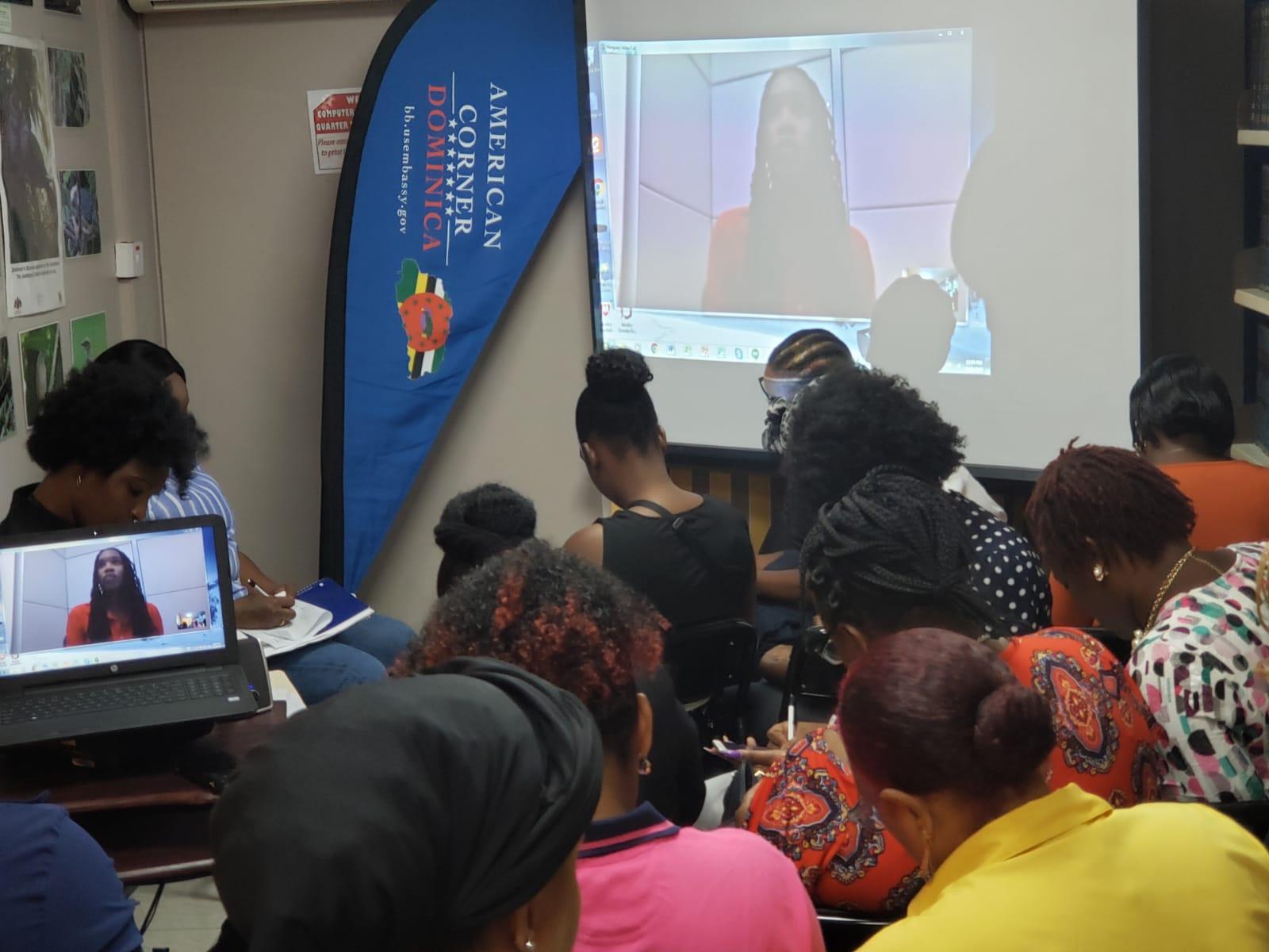 American Corner Women's Entrepreneurship Workshop