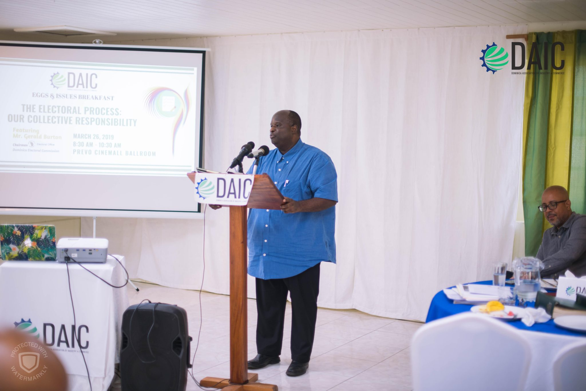 DAIC Encourages the Private Sector and other Stakeholders to Fulfill Responsibility in Electoral Process
