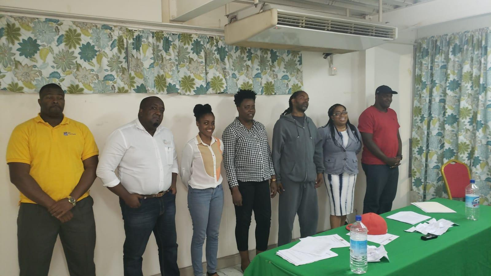 The Dominica Amateur Basketball Association General Elections Results