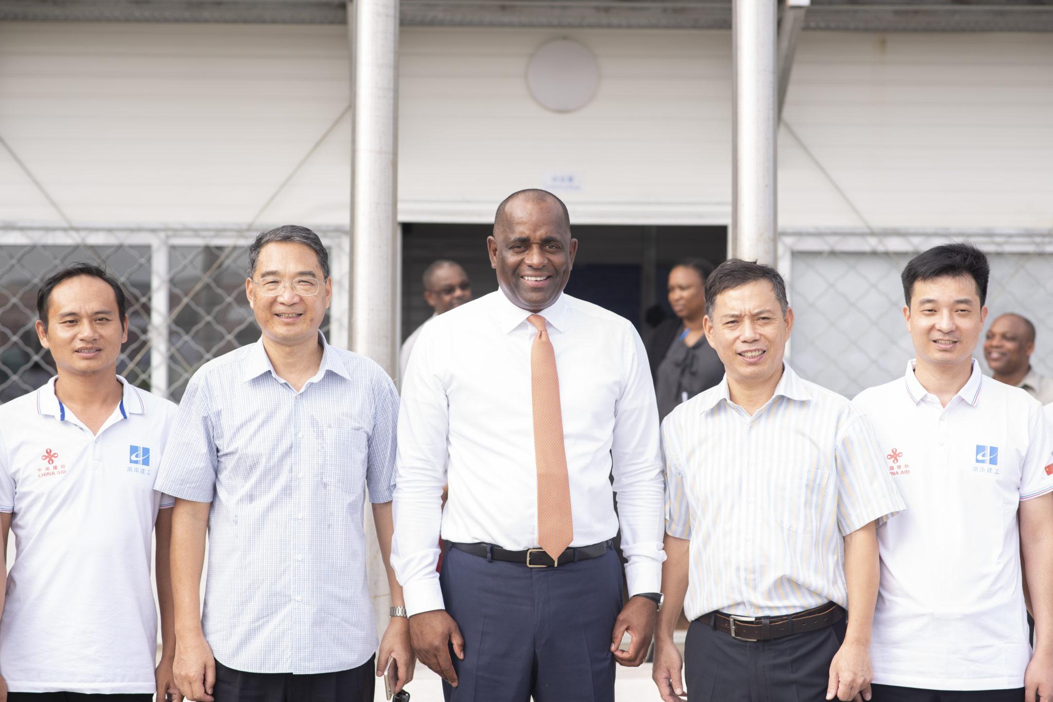 PM Skerrit Visits New Hospital