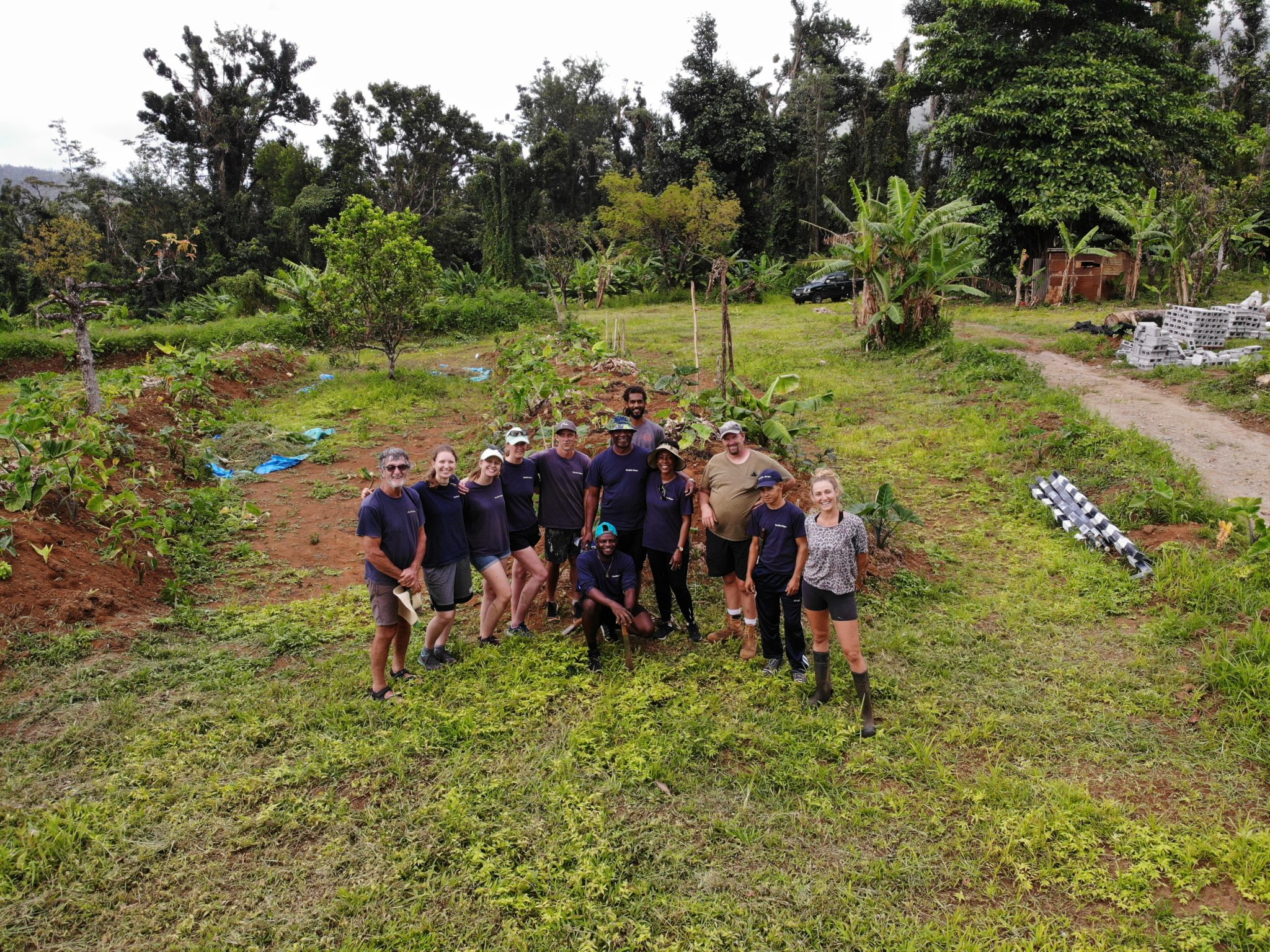 Range Developments Supports Dominica's Newest Permaculture Demonstration Site