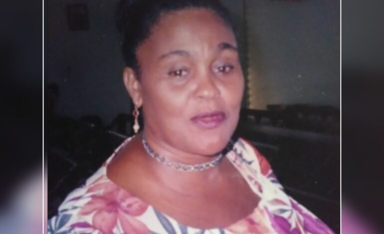 Death Announcement of 73 year old Cordilia Rachel Panthier nee Bertrand of Portsmouth
