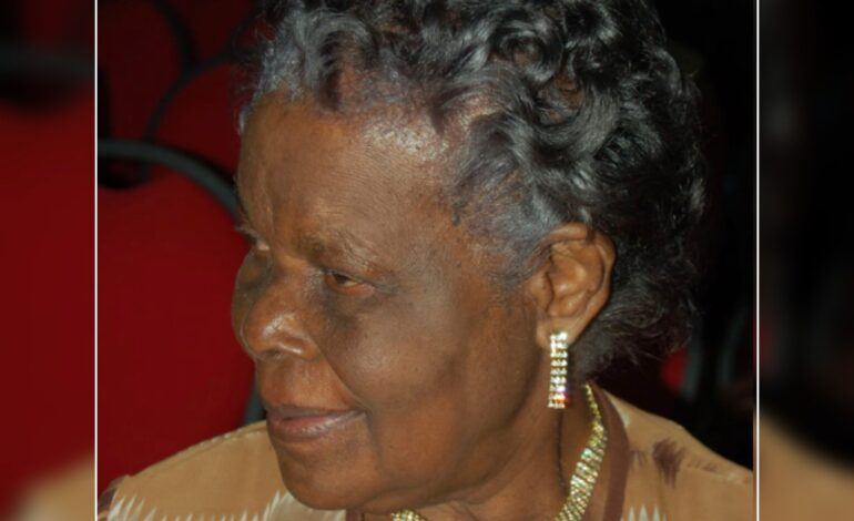 Thank You Message on behalf of the family of the late Donatienne George