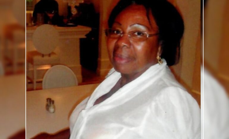 Death Announcement of 72 year old Sylvie Paeset Smith better known as Dar-fee-fee of Anse De Mai who resided in Guadeloupe