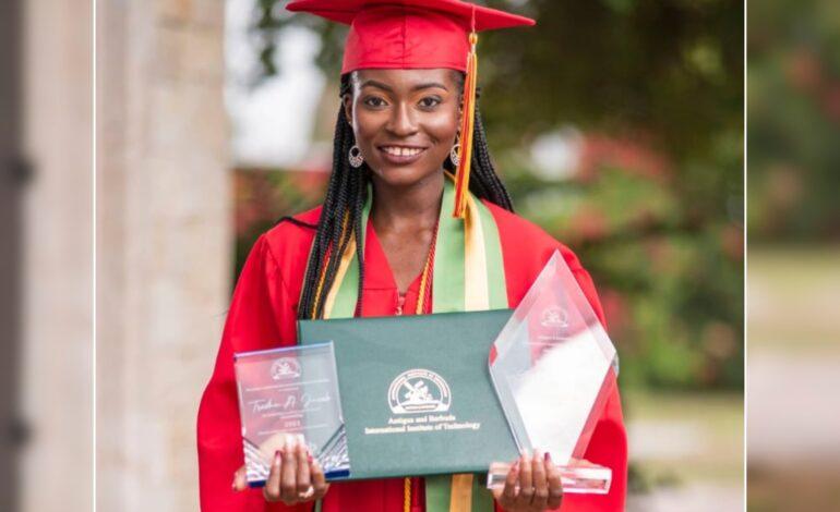 Dominican Is Valedictorian At Antiguan College