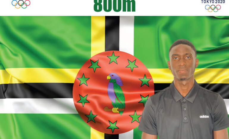 Dennick Luke and Thea Lafond to represent Dominica at the Tokyo 2021 Olympic Games