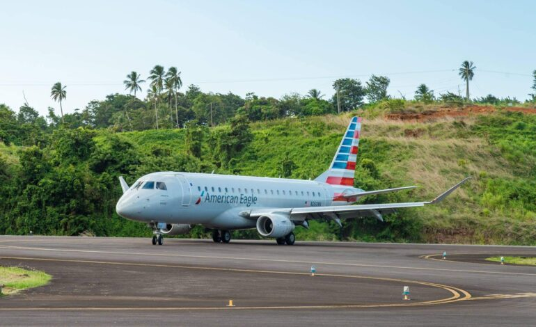 Dominica confirms AA Jet Service from December 8, 2021