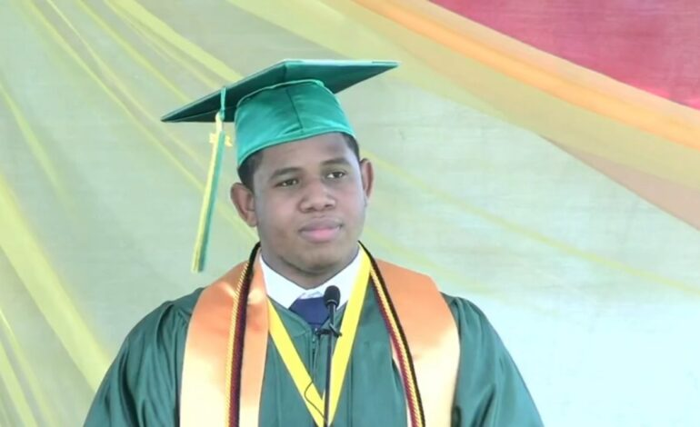 Khahill-Akil Richards: Two Time Valedictorian