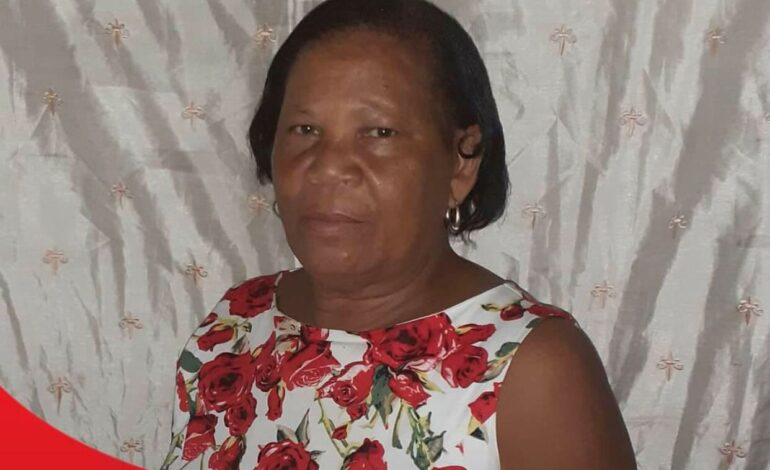 Death Announcement of 61-year-old Euta Augustina Toulon of Morne Rachette who resided at Bouleau Estate, Coulibistrie.