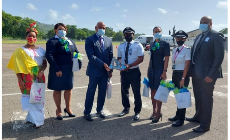 CARIBBEAN AIRLINES RESUMES DIRECT SERVICE TO SAINT LUCIA