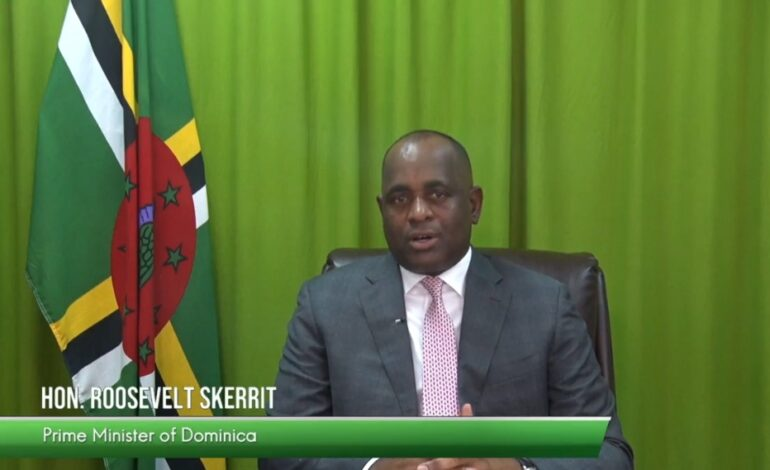 PRIME MINISTER SKERRIT CALLS FOR SHIFT TO MORE DIVERSIFIED ECONOMIES IN COMMODITY DEPENDENT STATES