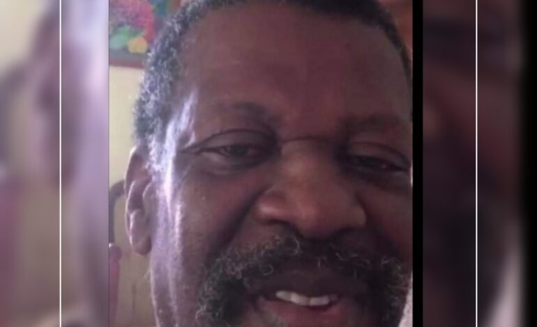 """Death Announcement of 61-year-old Ronald """"Brods"""" Mills of Wesley who resided  at Palm Tree, Woodfordhill"""