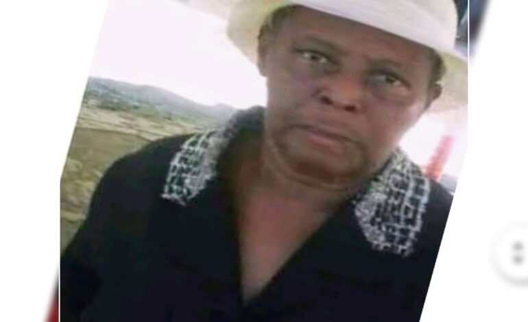 Death Announcement of 66-year-old Helen Theodore Joseph better known as Mamo of Bense who resided at Wesley.