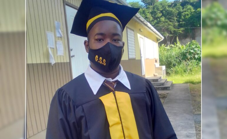 Sherrick Mitchell – From Miracle Baby to Valedictorian of the Goodwill Secondary School's class of 2020/2021