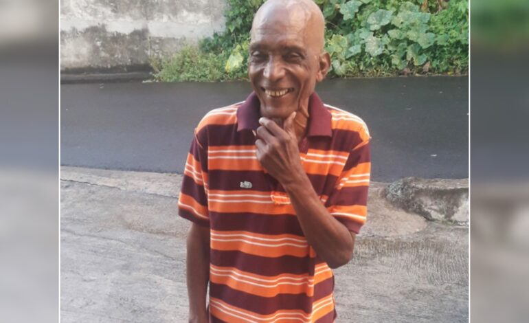 Death Announcement of 68 year old Anthony Thomas also known as Biggs and Friday of Kingshill