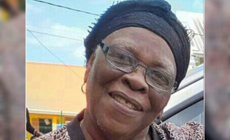 Death Announcement of 79 year old Bernadette Royer better known as Vone or Ivonnia of Woodfordhill