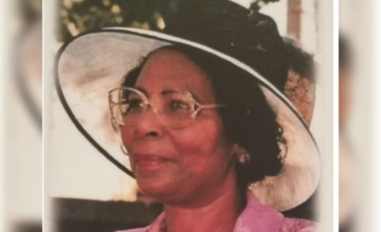 Death Announcement of 89 year old Andrea Andrews of Wall House