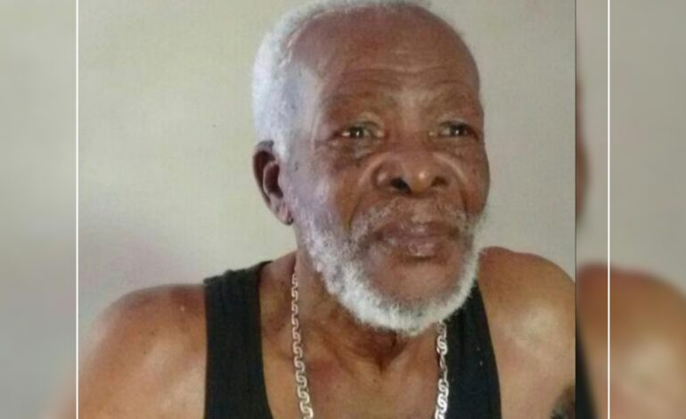 """Death Announcement of 93 year old Bernard Moses better known as """"Brother Mo"""", """"Dr. Mo"""" or """"The voice in the wilderness"""" of Newtown"""