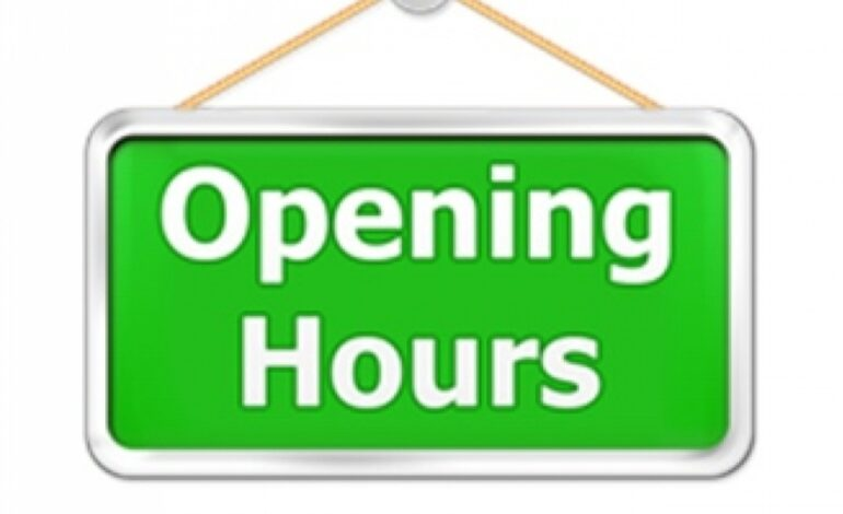EXTENDED OPENING HOURS FOR BUSINESSES, NEW PROTOCOLS FOR CHURCH SERVICES, WEDDINGS, AND FUNERAL