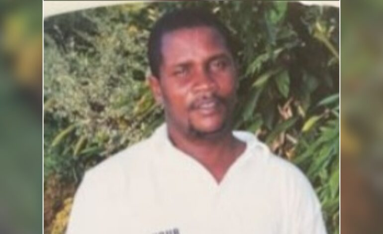 Death Announcement of 57 year old Hector Abraham better known as Reginald of Morne Prosper