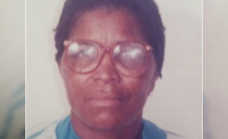 Death Announcement of 84 year old Winifred Davina Casimir Titre of Stockfarm