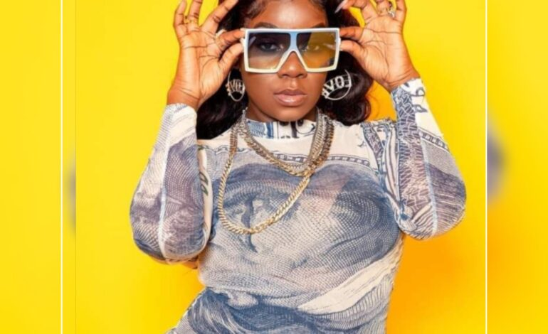 """Ebony Empress  of Portsmouth recently released Bouyon Single """"BEST I EVER HAVE"""""""