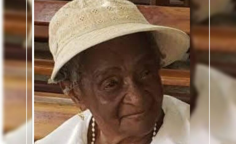Death Announcement of 89 year old Mrs. Helen Cecelia James nee Walsh better known as My mother, Ma Antoine, Ma Helen, Sister James and Mama of Newtown who resided at Loubiere