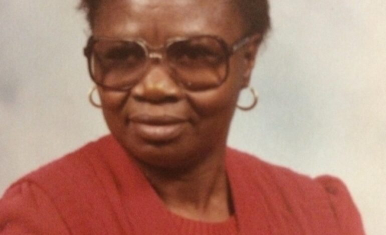 Death Announcement of 81 year old Mary Alistina James of Marigot who resided in the United States