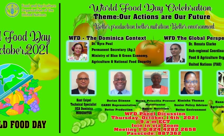 World Food Day Panel Discussion