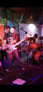 Brisbane band, Veritalis performing at Rics Bar on 27 November 2020