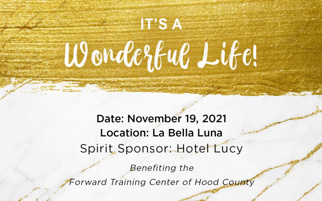 It's a Wonderful Life Fundraiser