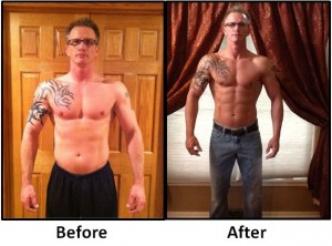 chad before and after