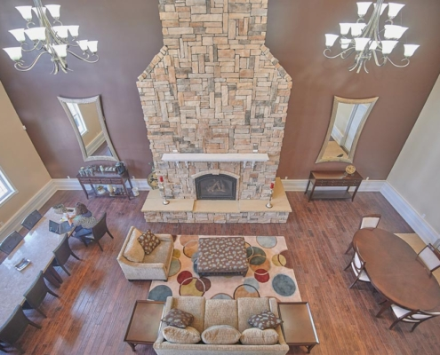 Common room for reservation Graycliff Luxury Townhomes